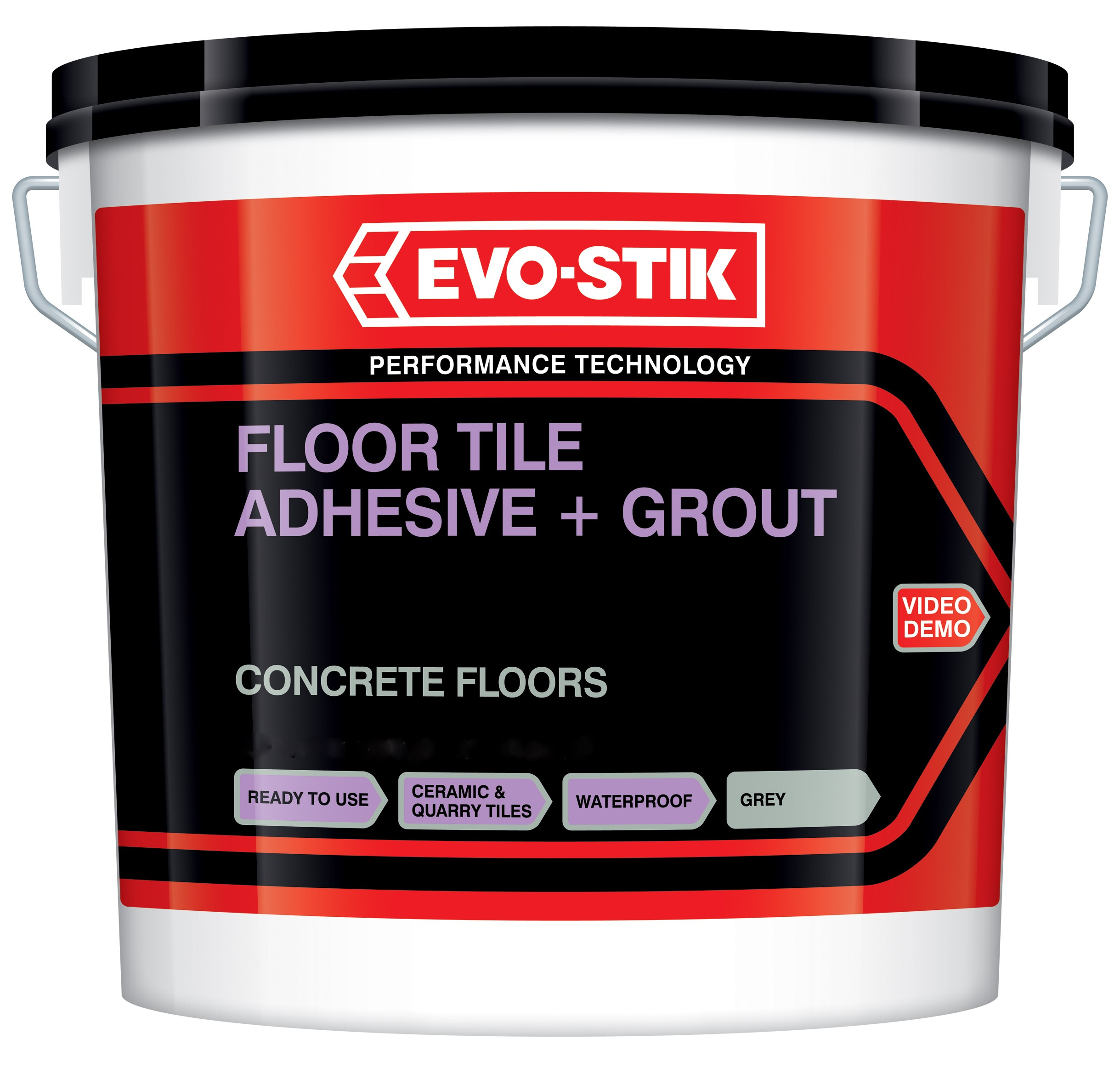 Evo Stik Concrete Floor Tile Adhesive Amp Grout Ready Mixed